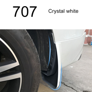 Image 5 - Front Rear Car Mud Flaps For Volvo XC60 2018 2019 2020 Mudflaps Splash Guards Mud Mudguards Accessories 4PCS gray blue  fender