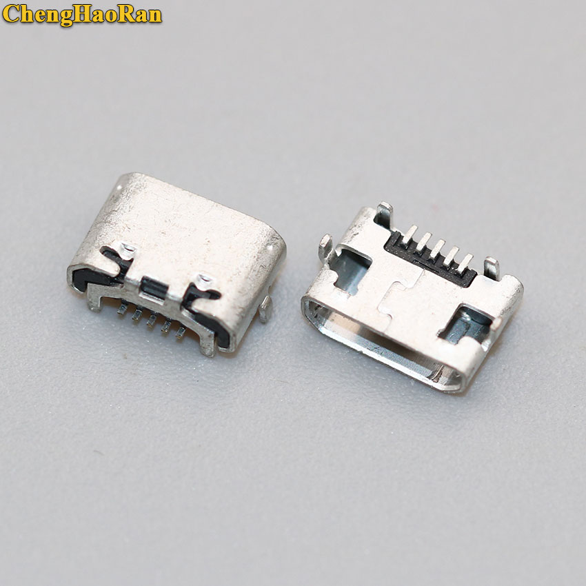 ChengHaoRan 5pcs For Huawei MediaPad T3 AGS-L09 AGS-W09 Tablet Pc Micro USB Jack Charging Port,data Port Tail Plug Connector