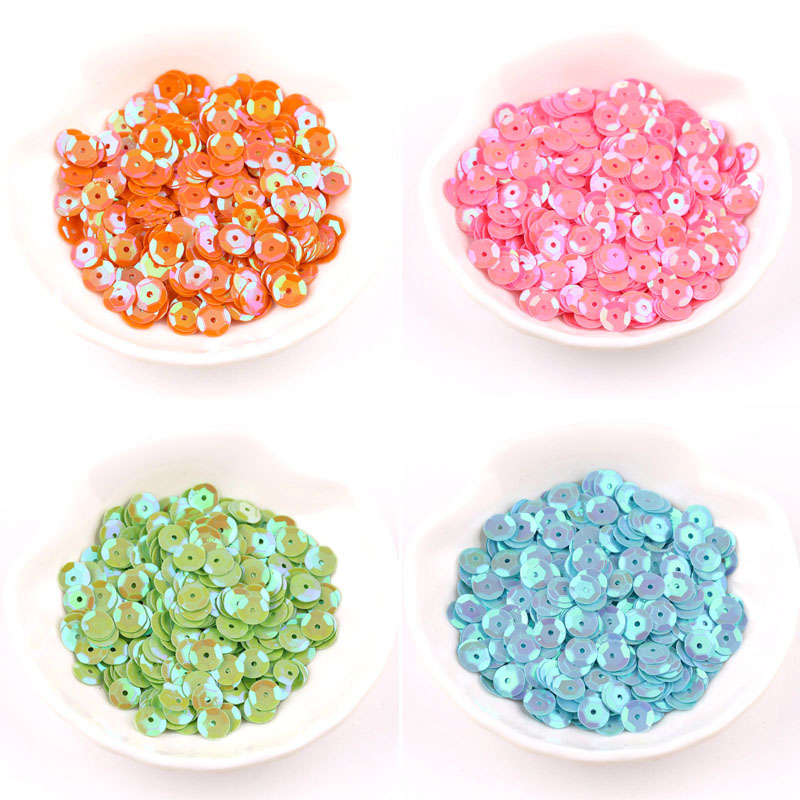 handmade DIY sequins set beaded clothing material package hand-sewn decorative color beads accessories image