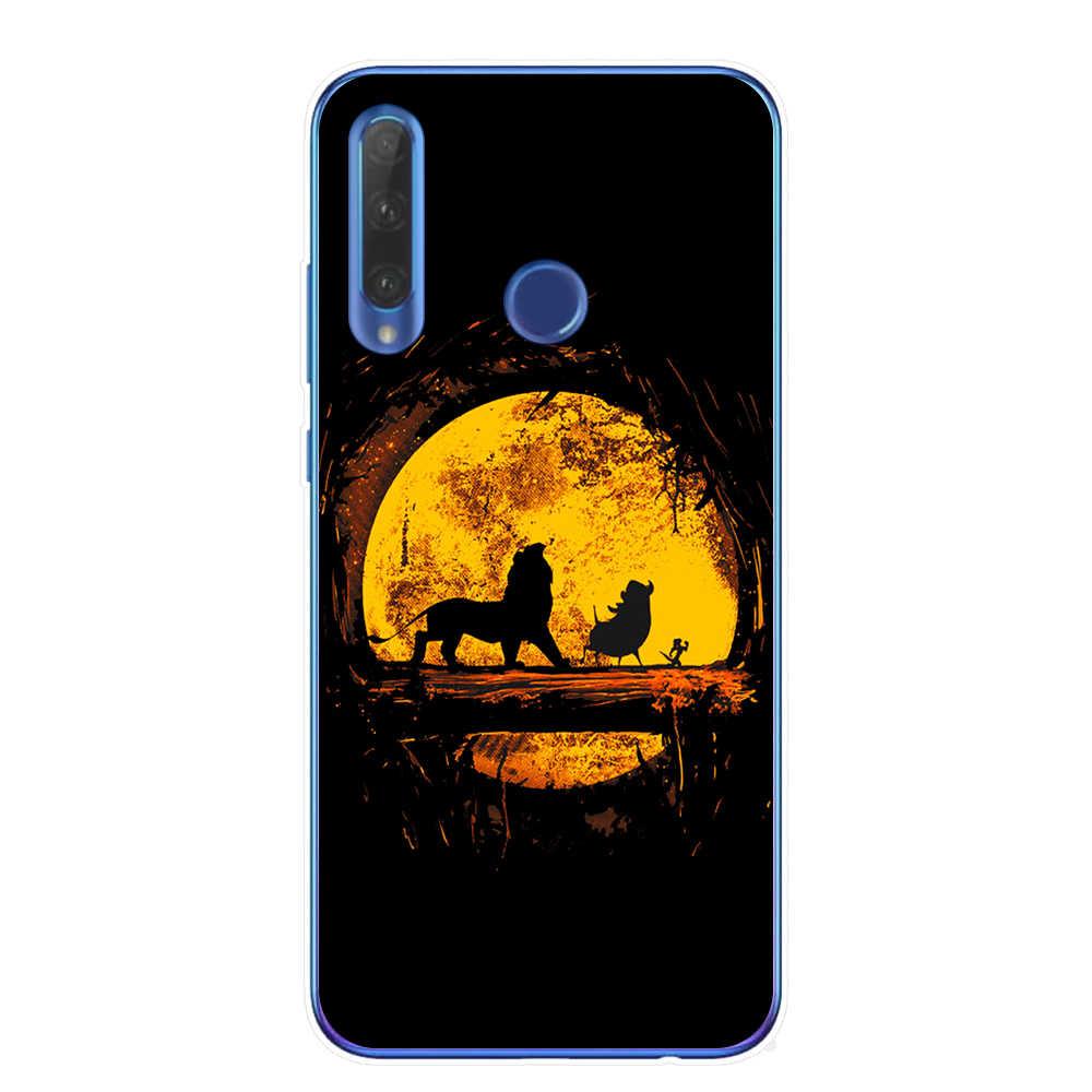 Funda de teléfono con dibujo de León rey nala simba timon para Huawei Honor 10 20 Lite 10i 8X 8C Mate 10 20 funda de TPU Lite Pro Y9 2019