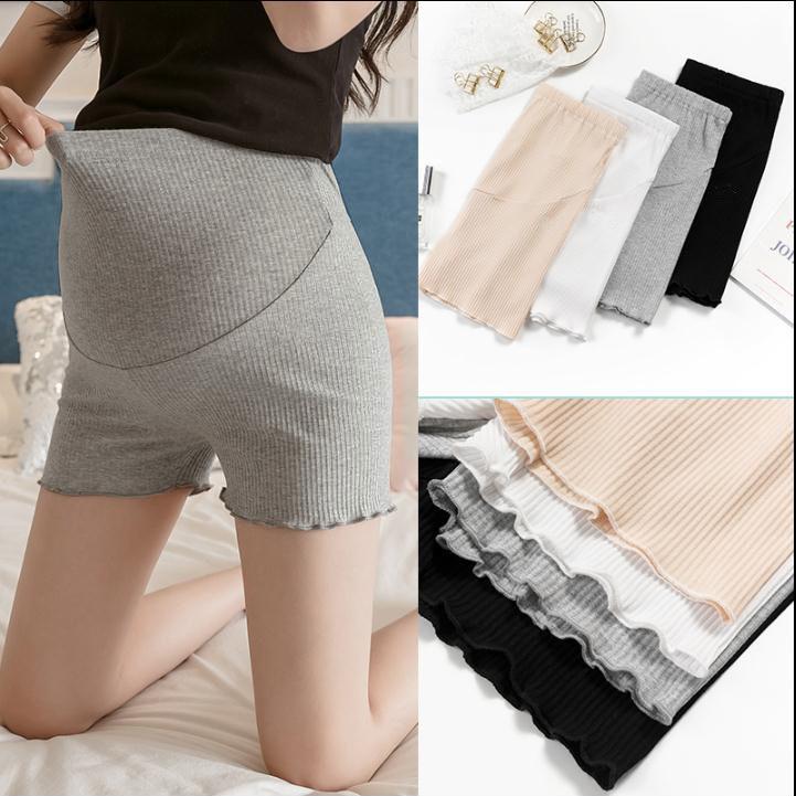 Female High Waist Maternity Leggings Underwear Pregnant Cotton Breathable Women Treggings Underpants Soft Maternity Shorts