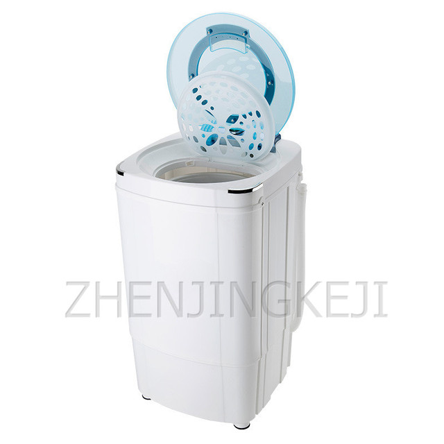 9KG Small Single Dehydrator High Capacity Spin Dryer Spin Bucket 220V/160W Washing Machine Rinsing Washer Household Appliances