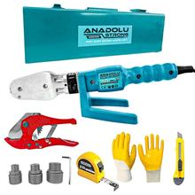 Ans1026 Pprc Pipe Welding Mini Machine Set (3metre, gloves And Curved Knife Gift))