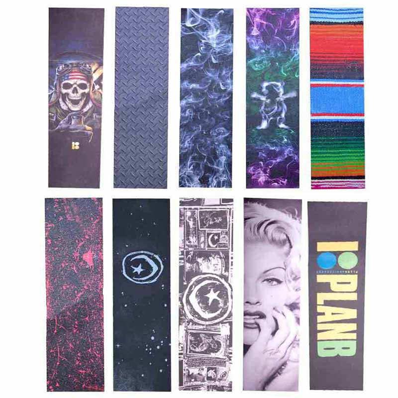 Professional Skateboard Sandpaper 84*23cm Double Warp Longboard Deck Grip Penny Skateboard Tape Wear Scooter Rough Stickers