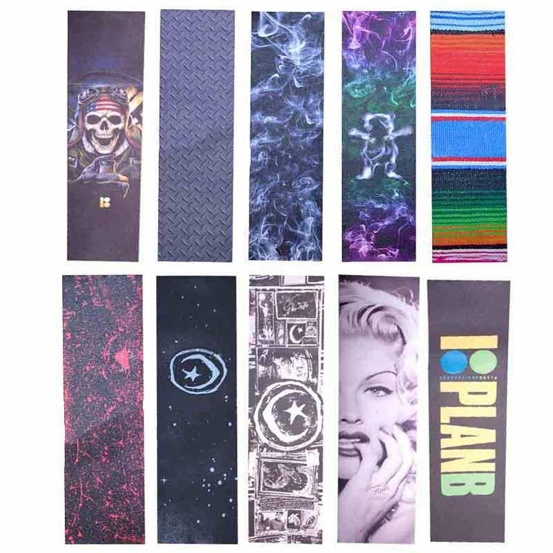 Professional Skateboard Sandpaper 84*23cm Double Warp Longboard Deck Grip Penny Skateboard Tape Wear Scooter Rough Stickers