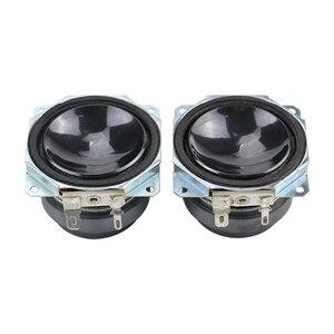 Image 2 - 2 inç 20W tam aralıklı Subwoofer hoparlör 8ohm PP lavabo refleks kumaş kenar çift manyetik uzun strok masaüstü DIY 1 çift