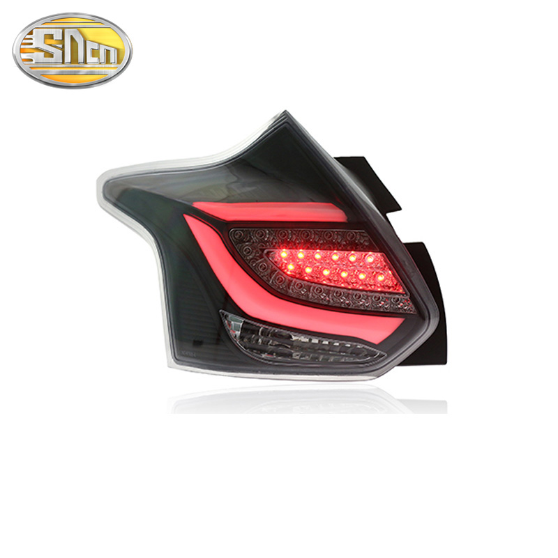 LED Rear Fog Lamp + Brake + Reverse + Turn Signal Car LED Tail Light <font><b>Taillight</b></font> For <font><b>Ford</b></font> <font><b>Focus</b></font> Hatchback 2012 2013 2014 image