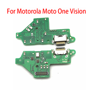 Image 4 - Original New USB Charging Port Connector Board With Mic Microphone For Moto One Vision Fusion Action Marco Hyper Power G30