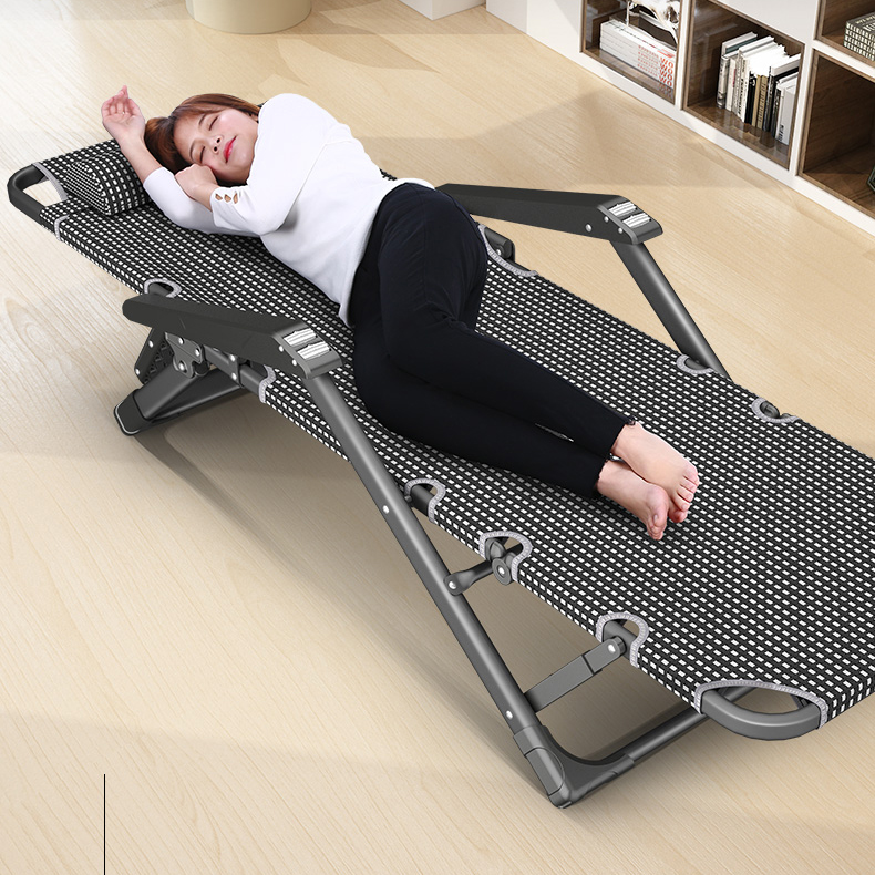 Кресло для сна, складное кресло, стул для обеда, Сиеста, простое, одиночное, для отдыха, дома, на спине, летнее, кресло для отдыха