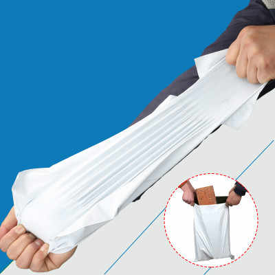 50pcs/Lot White Courier Bag Express Envelope Storage Bags Mail Bag Mailing Bags Self Adhesive Seal Plastic Packaging Pouch
