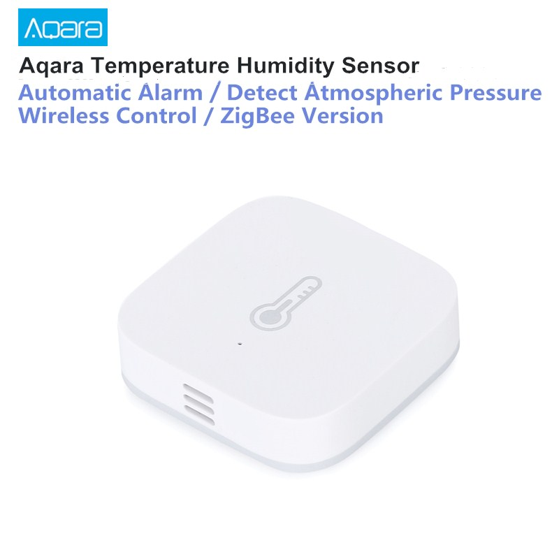 Original AQara Smart Temperature Humidity Sensor ZigBee Wifi Wireless Work With Xiaomi Smart Home Mijia Mi Home App