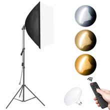Light-Stand Soft-Box Neewer Photography Led-Bulb Remote-Control with 79inches/200cm 45W