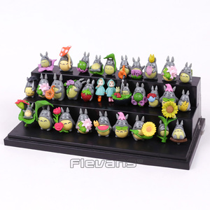 Image 3 - Mini figuras de PVC de My Neighbor Totoro, muñecos de decoración, juguetes, 30 unidades