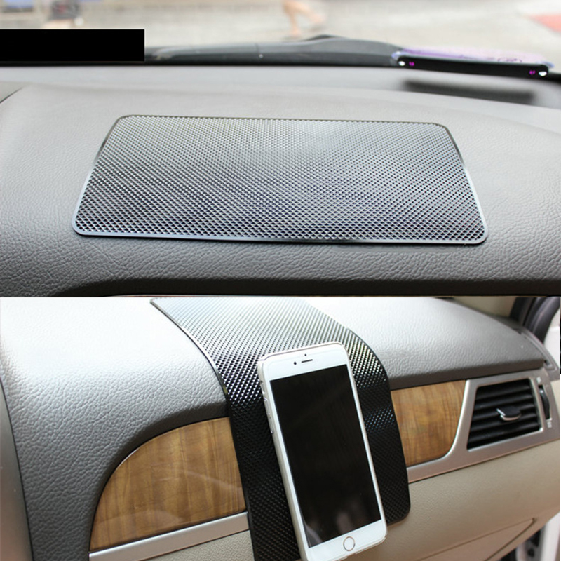 Car Pad Non Slip Sticky Anti Slide Dash Cell Phone Mount Holder Mat Car Dashboard Sticky Pad Adhesive Mat for Cell Phone GPS 6