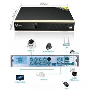 Image 3 - MOVOLS 2MP zestaw CCTV 8CH DVR 8 sztuk noktowizor kamera kopułkowa monitoringu System domu na zewnątrz wodoodporny System monitoringu wizyjnego P2P