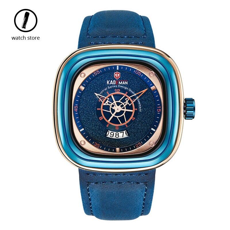 Fashion Replica Square Men's Watch Uniquely Designed Luxury Sports Brand Waterproof Trend Clocks Male Gifts Relogio Masculino