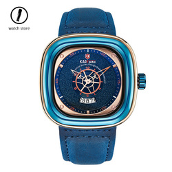 Replika mody kwadratowy męski zegarek wyjątkowo zaprojektowana luksusowa marka sportowa wodoodporne trendy zegary męskie prezenty Relogio Masculino