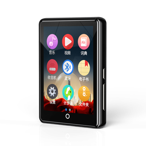 Image 2 - Ruizu m7 Metal MP3 player Bluetooth 5.0 built in speaker 2.8 inch large touch screen with e book pedometer recording radio video