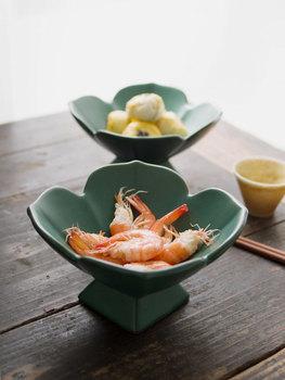 Dostosuj talerz na przekąski o wysokiej stopie talerz na owoce Xiaoxin chiński ceramiczny talerz odświeżający chiński talerz na przekąski talerz na owoce tanie i dobre opinie CN (pochodzenie) Stałe ROUND Chinese style Solid color