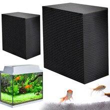New Eco-Aquarium Fish Tank Activated Carbon Charcoal Purify Water Cube Air purification multifunctional Aquarium Filter Dropship