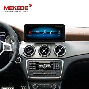 Image 5 - 1920*720 Android10 4G + 64G רכב GPS ניווט נגן DVD עבור מרצדס בנץ CLA כיתת W117 כיתה W176 GLA Class X156 2013 2018