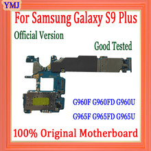 100% geprüft Motherboard Für Samsung Galaxy S9 Plus G960F G965F G960FD G960U G965FD G965U Mit Android System Logic Board 64GB