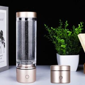 Image 3 - Nanometre High Hydrogen Water Generator Super Antioxidants  Alkaline Electrolysis Ionizer Pure H2 Rechargeable IHOOOH Drink Cup