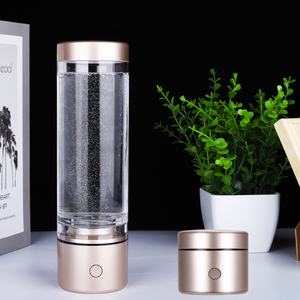 Image 3 - Nanometre גבוהה מימן מים גנרטור סופר נוגדי חמצון אלקליין אלקטרוליזה Ionizer טהור H2 נטענת IHOOOH לשתות כוס