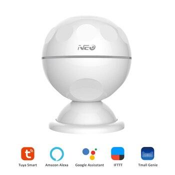 Wireless Infrared Sensor 2.4GHz WiFi PIR Motion Sensor Detector Home Smart Life Built-in Battery Intelligent Infrared Senser