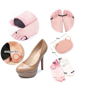 High quality Relief Pain Forefoot Arch Support High Heeled Shoes Insoles Flatfoot Orthotics Anti Slip Cushion Pads