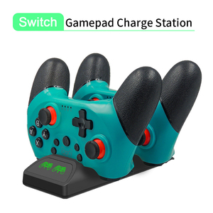 Image 1 - Dual Charger for NS Switch Pro Wireless Bluetooth Gamepad Controller Game Chargering Dock Stand Station for Switch Accessories