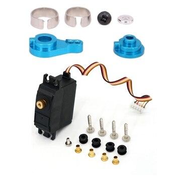 Steering Servo Horn Arm 0033 for WLtoys 12428 12423 1/12 & for WLtoys 12428 12423 25G Motor Metal Steering Gear Servo