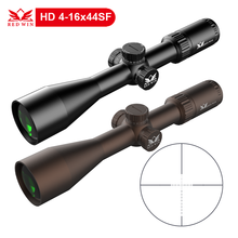 Red Win 4-16x44 SF Scope Hunting Rifle Scope 30mm 1/10Mil Turret Adjust w/ Lock System High Definition w/ Wilde Angle Eyepiece