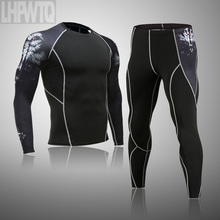 Clothing Thermo-Underwear Compression-Fleece New Sweat Brand Top-Quality Quick-Drying