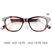 Gafas de lectura de acetato para mujer vintage retro de calidad superior + 0,25 + 0,5 + 0,75 + 1,25 + 1,5 + 1,75 + 2,25 + 2,5 + 2,75...