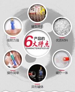 Дешевые 32 штуки вакуумные чашки массажное вакуумное устройство для акупунктуры терапия расслабляющий массажер кривая всасывающие насосы ...