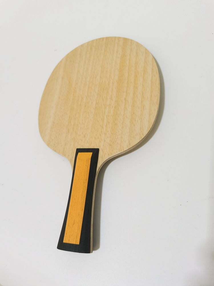 Inner ZLC Table Tennis Blade 5 Ply Wood With 2 Ply ZLC Carbon Fiber Table Tennis Bat FL Handle Ping Pong Paddle