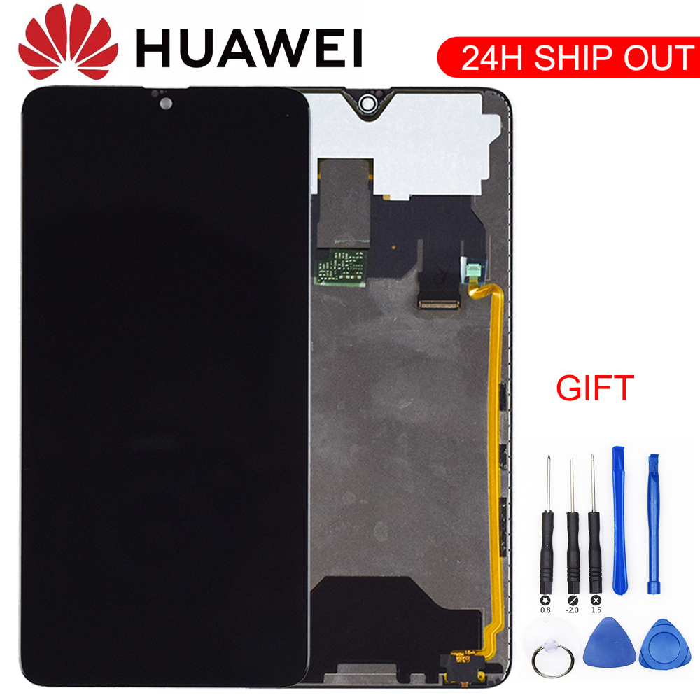 Original For Huawei Mate 20 Mate 20 Display Screen Touch Digitizer With Frame Replace For Huawei Mate 20 LCD Screen HMA-L29