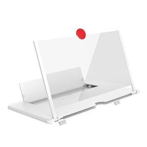 Новейший Pull Typer Усилитель сотового телефона 3D эффект большой экран высокой четкости с держателем стола увеличительное складывание для игры в кино
