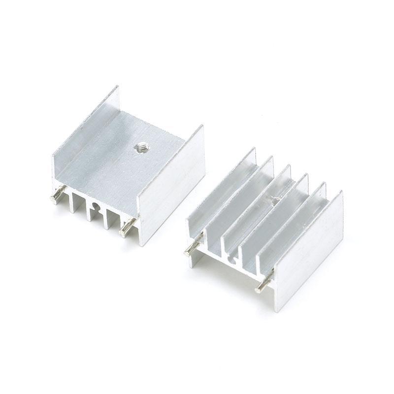 DIYElectronic 10 pcs 252416mm Heatsink Cooler Cooling Fin Aluminum Heat Sink Radiator TDA7294//L298 25X24X16mm