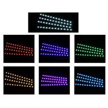 Mayitr 4x 12 светодиосветодиодный rgb Автомобильный интерьер