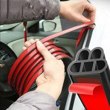Porta do carro vedação tira dupla camada adesivos de carro l forma selado adesivo impermeável à prova dwaterproof dwaterproof cuidados com o carro