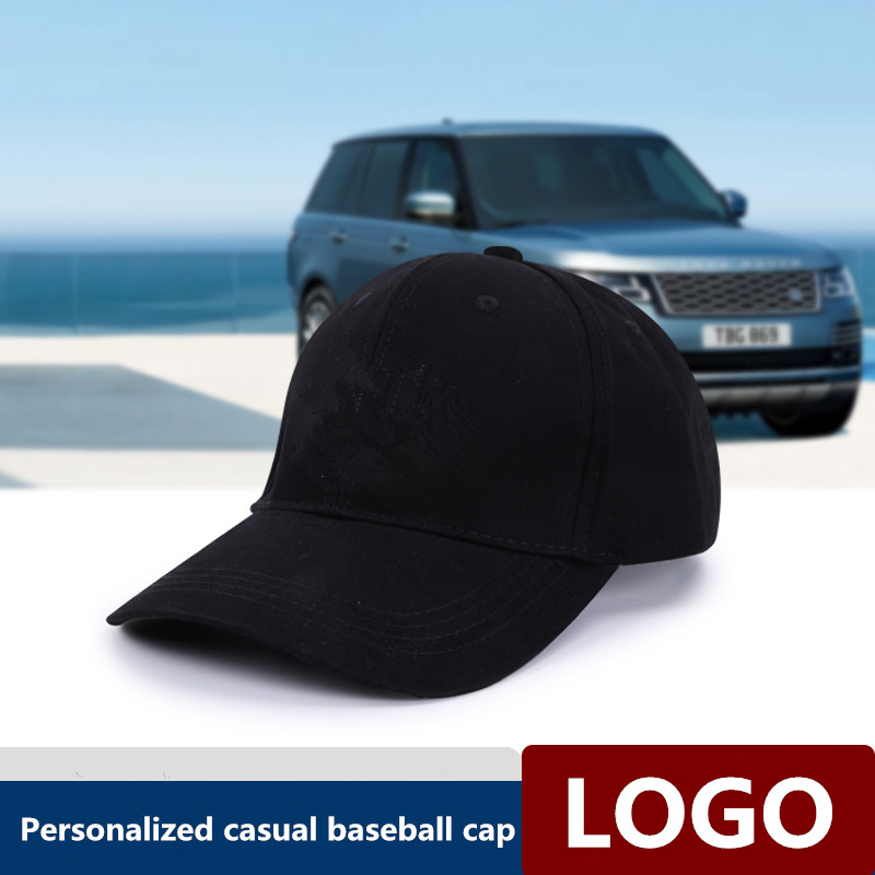 Cotton Baseball Hat for Land Rover Evoque Range Rover Discovery Adjustable Peaked Cap Solid Color Trucker Cap Outdoor Sunbonnet Key Case for Car     - title=