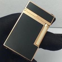 Hot sales 100% dupont Bright Sound gas lighter windproof copper for cigarette
