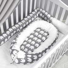 Long-Pillow Bed-Protector Baby Bumper Sofa-Cushion Crib Round Kids Cotton for Stuffed