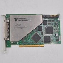 American genuine NI PCI-6036E communication / letter data acquisition DAQ card original pci 1620 rev a1 data acquisition card industrial motherboard