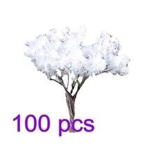 20/50/100 шт 6,7 см Хо 1: 85 весы/заснеженных деревьев модель ж/д Архитектура диорама Дерево Набор «сделай сам» для пейзаж