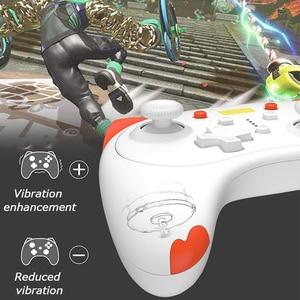 Image 3 - Controle para jogos de nintendo switch pro switch lite, controlador de jogos fofo sem fio com alça