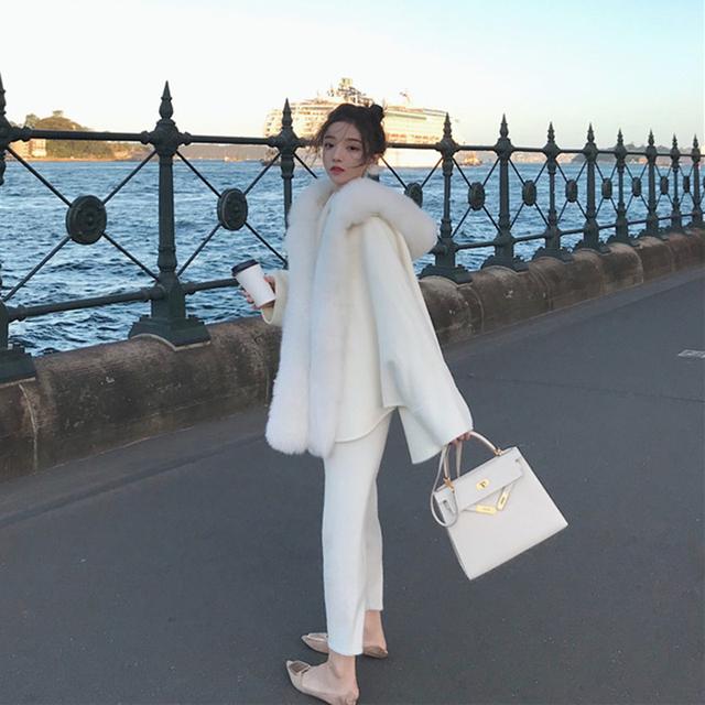 Women Faux Fur Coat Elegant Thick Warm New Fashion Outerwear Fake Fur Jacket winter faux fur coat women