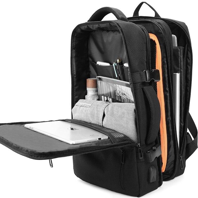 Men's Backpack Multifunction Travel Bag 15.6-inch Laptop Bag Waterproof Large Capacity Business Bag Youth School Bag